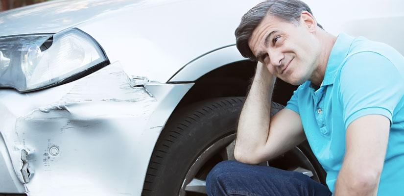 Mitverschulden bei Verkehrsunfall/ Autounfall