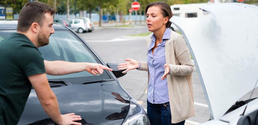 So verhalten Sie sich bei einem Verkehrsunfall richtig
